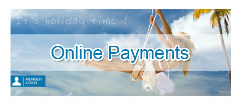 Holidays - Online Payment Functionality