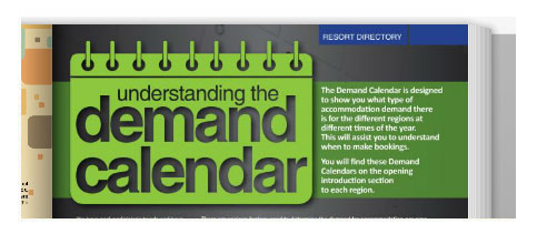 Consult your Demand Calendar before booking