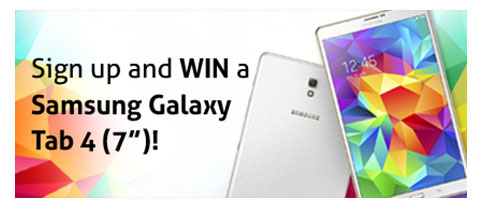 Go Digital And Stand A Chance To Win!